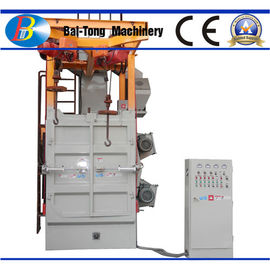 China Compact Rust Removal Shot Blasting Machine , Shot Blasting Unit Large Lifting Capacity supplier