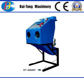 China Dustless Reinforced Wet Sandblasting Cabinet Feed Abrasive 4 - 6kg For Fiberglass supplier