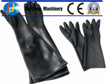 China 280mm Width Abrasive Blasting Gloves , Blast Cabinet Gloves Highly Protective supplier