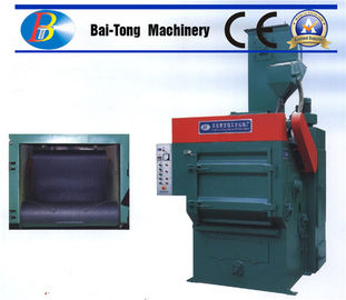 China Tumble Rubber Belt Steel Shot Blasting Machine Safe Operation For Casting Metal Parts supplier