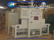 China Small Flat Parts Automatic Sandblasting Machine Adjusted Belt Conveyer Speed factory