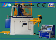 China Double Chamber CNC Shot Peening Machine Continuous Pressure Module For Fan Blade factory