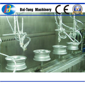 Automobile Hub Paint Coating Lines High Temperature Resistance CE Approved