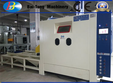 Heavy Duty Work Car Automatic Sandblasting Machine 1200*1200*1950mm Dimension