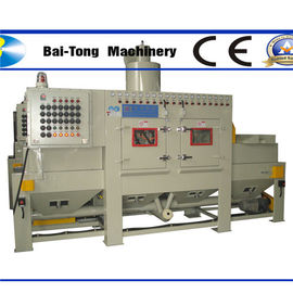 Anti Explosion Automatic Sandblasting Machine Compact Working Cabinet For Steel Plate