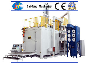High Efficiency CNC Shot Peening Machine Cyclone / Vibration Screen Separation System