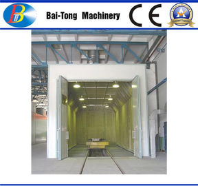 Custom Designed Sandblasting Room 9000mm*6500mm*4580mm Outside Dimension