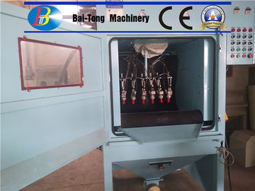 High Production Automatic Sandblasting Machine 380V 50Hz Electricity Source