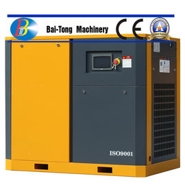 Rotary Electric Screw Industrial Air Compressor IP54 / IP55 For Sandblasting